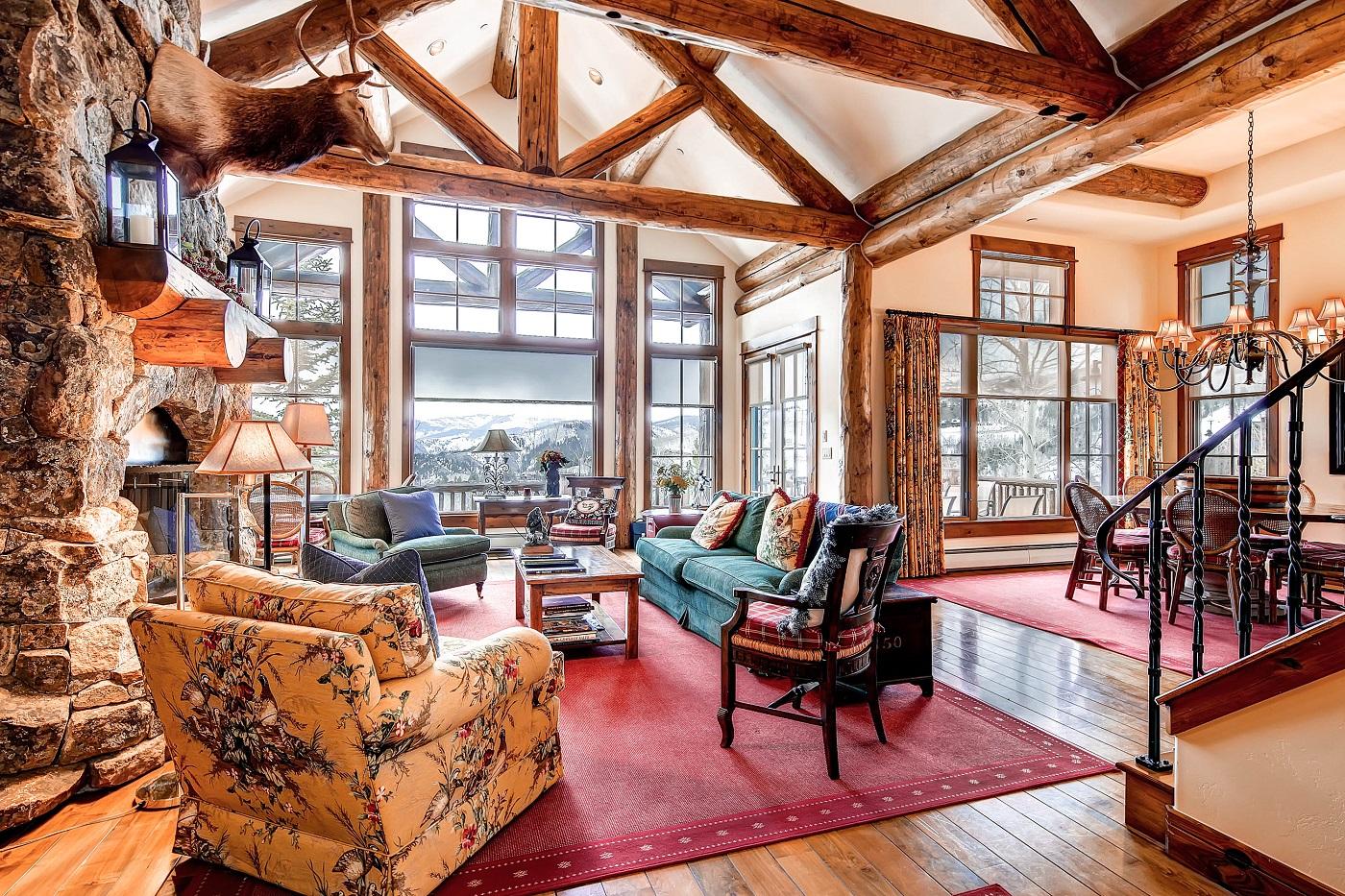 Beaver Creek Mountain Lodging Skywatch 50 Living Room