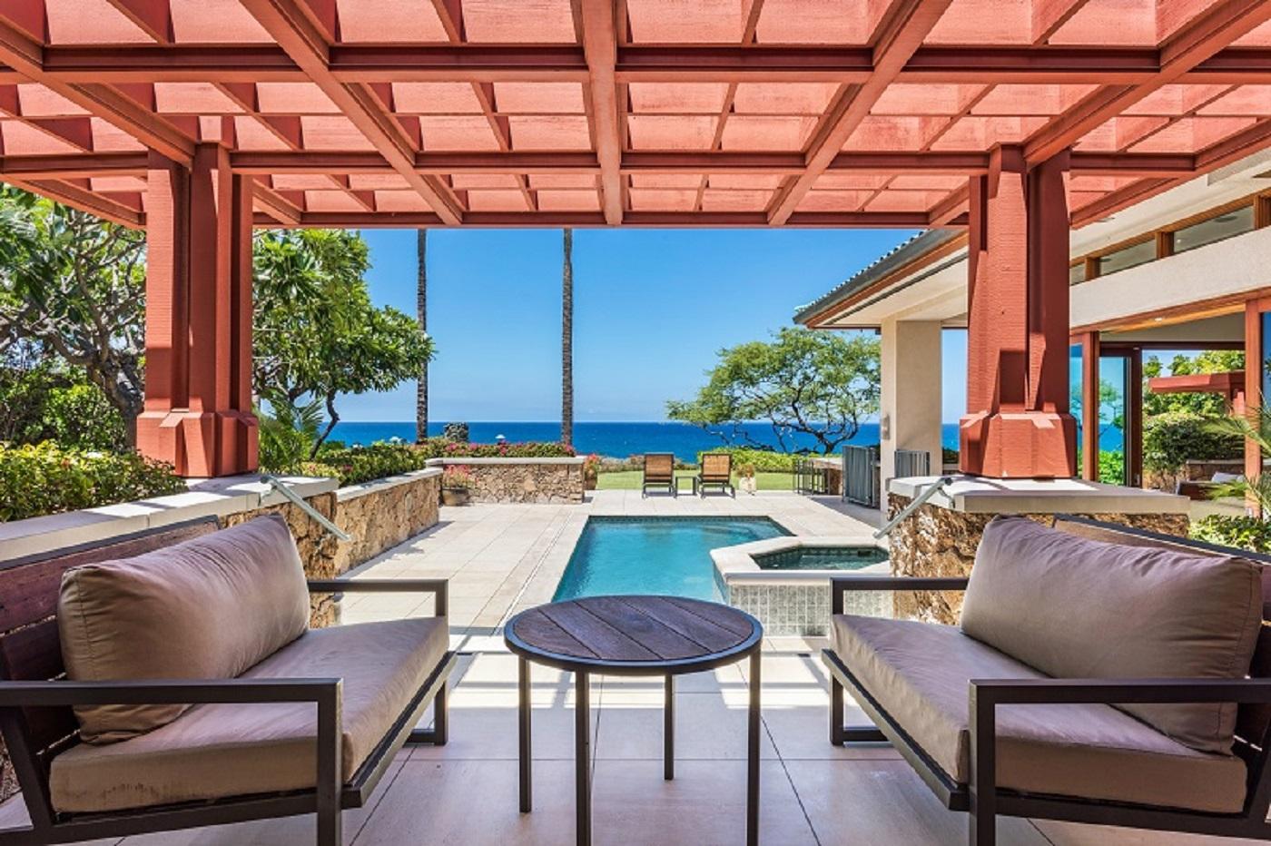 Mauna Kea Residences Bluffs 5003 Pool Deck