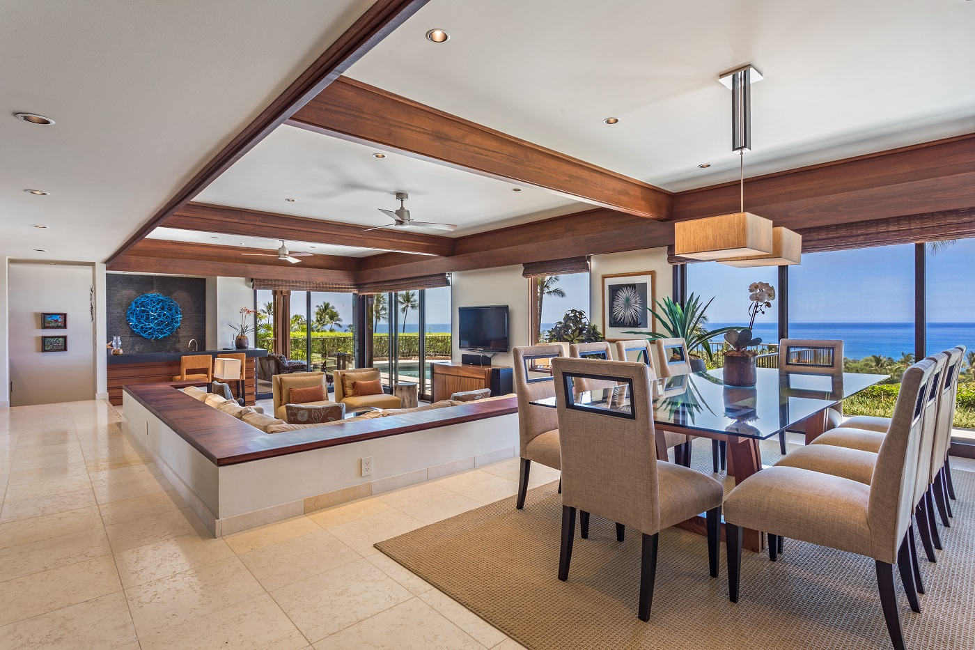 Mauna Kea Residences Villa 22 Dining Room