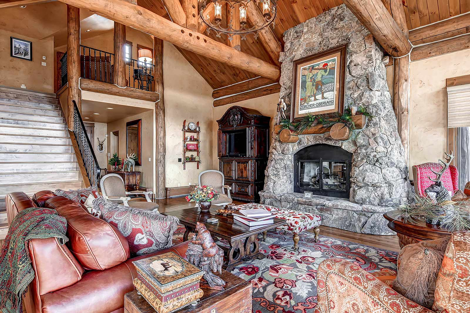 Beaver Creek Mountain Lodging Skywatch Living Room